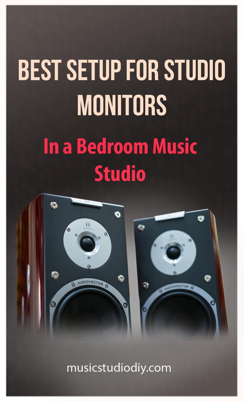 Best Studio Monitors Setup For Bedroom Music Studio Music Studio Diy