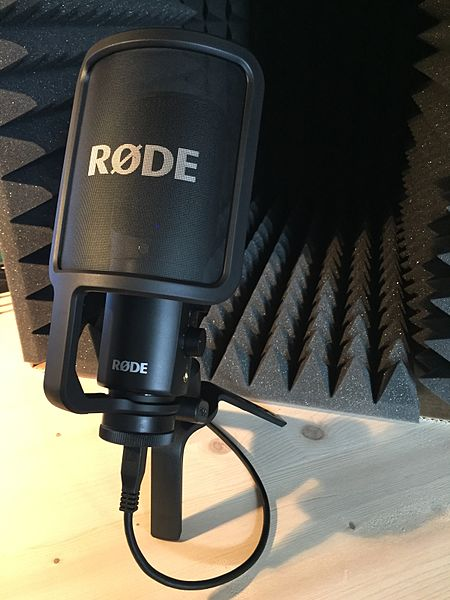 rode nt usb condenser microphone review music studio diy. Black Bedroom Furniture Sets. Home Design Ideas
